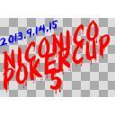 第5回ニコニコポーカーカップLogo