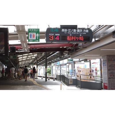 江ノ電鎌倉駅ホーム