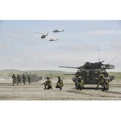 現代における諸兵科連合の概念を表す一例