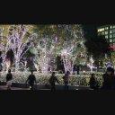 新宿駅南口のクリスマスイルミネーション その2 【ゆっくりパン】