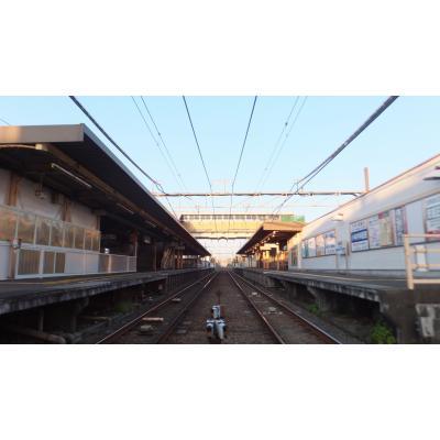 本鵠沼駅ホーム