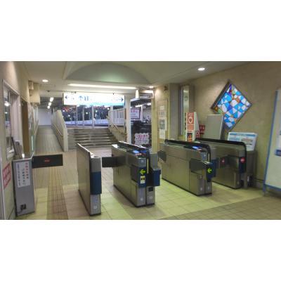 神武寺駅改札