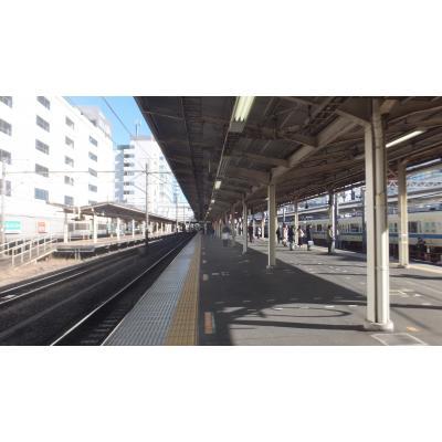JR藤沢駅ホーム