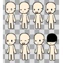 着せ替えミニ立ち絵 本体3 肌色:fff1dc