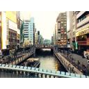 大阪ミナミのひっかけ橋より(夕方)