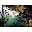 鹿児島 霧島の滝と虹