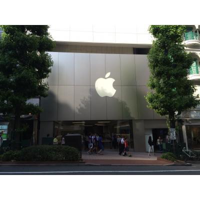 アップルストア渋谷 外観