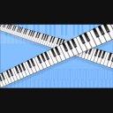 【動画素材】移動する鍵盤1