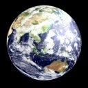 地球が回転【ループ素材】