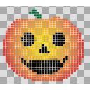 【ハロウィン】かぼちゃ・パンプキン ②【ドット絵】