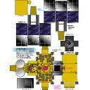 【完成】小惑星探査機はやぶさ2 ペーパークラフト 【暫定版】
