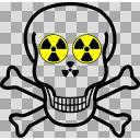 ドクロ化学物質注意イラスト