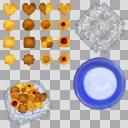 クッキーセット(3D・CG)