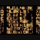 ランダムな文字列のアニメーション