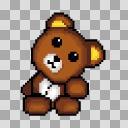 【素材】クマのぬいぐるみ