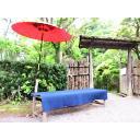 唐傘とベンチ:j_meiji_002b