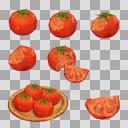 トマト(3D・CG)