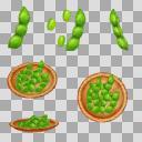 枝豆(3D・CG)