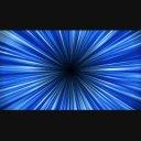 中央から拡散する背景EF-青
