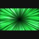 中心から拡散する背景EF-緑