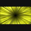 中央から拡散する背景EF-黄