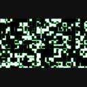 サイバーな四角デザイン背景動画