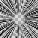集中線(2000×2000)Bパターン