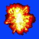 【エフェクト素材】爆発(BB素材)