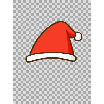 サンタ 帽子 イラスト