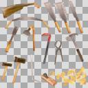 大工道具セット(3D・CG)