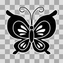 【AviUtl用図形】蝶々1