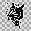 【AviUtl用図形】蝶々2