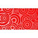 赤い丸の背景素材