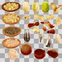 ナッツセット2(3D・CG)