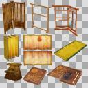 和家具セット(3D・CG)