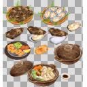 牡蠣(3D・CG)