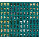 ■「けものフレンズ」ゲーム向けドット絵素材 アニメ登場フレンズ05