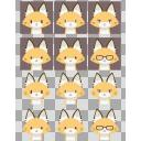 狐アイコン6種