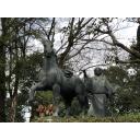 高知城のなんかの銅像