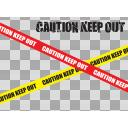 CAUTION KEEP OUT 2