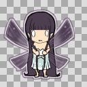 黒髪妖精ちゃん01