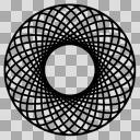 【モノクロアイコン】謎マーク02