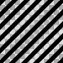 【モノクロアイコン】斜めストライプ