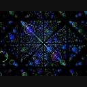 VJ CG 映像素材 Hexagon_05 ゆっくりと六角形の中を進む