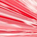【背景】スピード線(赤・斜め遠近)