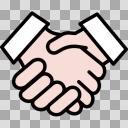 握手アイコン