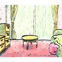 【背景】ヒロインの部屋 一人部屋