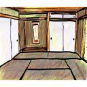 【背景】和室 6畳