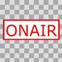 【透過素材】ONAIR(点灯)