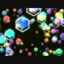 Hexagon_gdmnet_12 VJCG動画素材